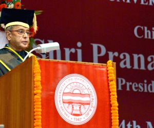 President at the 64th Convocation of Punjab University