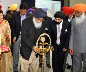 Punjab CM during the inauguration of an Indo-German-Japanese joint venture