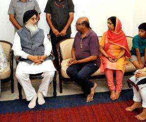 Punjab meets family of Nek Chand