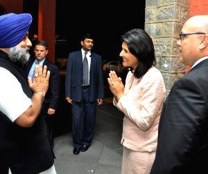 Punjab DY CM meets Nikki Haley