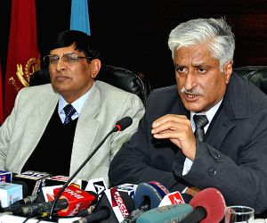 Punjab DGP at a press conference