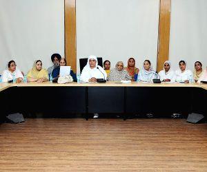 Shiromani Akali Dal's women wing's meeting