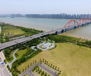 CHINA-HUNAN-CHANGSHA-ENVIRONMENT-PARK