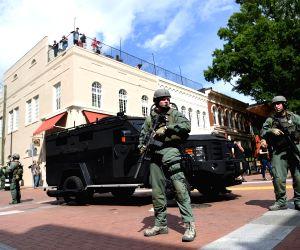 U.S. CHARLOTTESVILLE VIOLENT RALLY CAR CRASH
