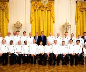 Chef Machindra Kasture with former US president Barack Obama