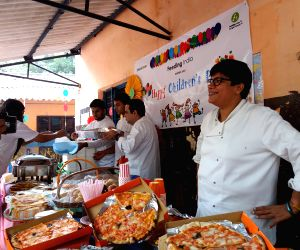On Children's Day renowned chefs come together to fulfill food fantasies of under-privileged kids ()