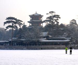 Chengde (China): First snowfall