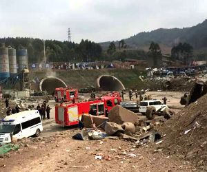 CHINA-CHENGDU-ROAD TUNNEL BLAST