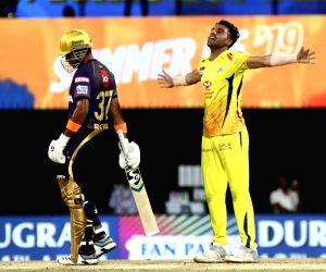Chahar takes three as Chennai restrict KKR to 108/9