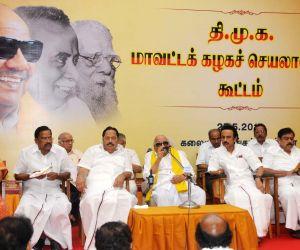 DMK's district secretaries meet