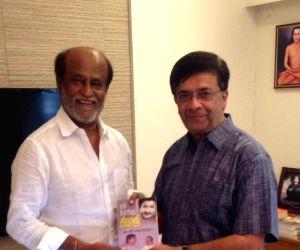 Chennai: Y. G. Mahendra calls on Rajinikanth