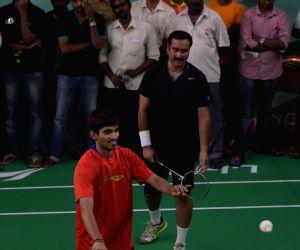Srikanth Kidambi inaugurates a Badminton Academy