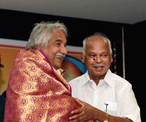 Kerala CM during a programme