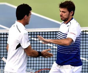 ATP Chennai Open 2015 - Stan Wawrinka and Roberto Bautista Agut vs Nicholas Monroe and Johan Brunstrom