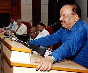 Harsh Vardhan addresses during a programme