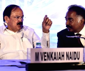 Venkaiah Naidu during a conference on Tamil Nadu Smart Cities