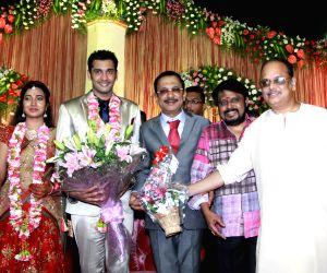 Wedding reception of DMK chief 's grandson