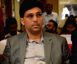 Viswanathan Anand during a progrmme