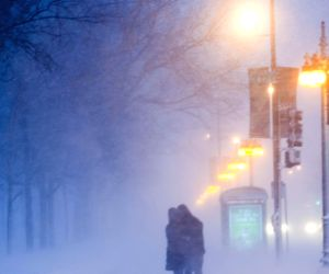 U.S. CHICAGO BLIZZARD