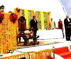 Anandiben Patel takes oath as new MP Governor