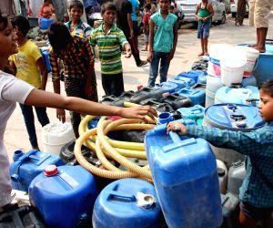 Delhi Jal Board water tanker
