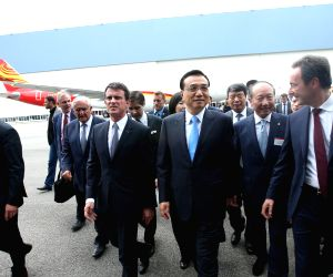 FRANCE TOULOUSE CHINESE PREMIER AIRBUS VISIT