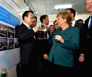 CHINA HEFEI LI KEQIANG MERKEL UNIVERSITY VISIT