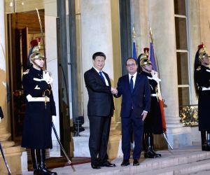 FRANCE CHINA XI JINPING MEETING