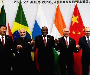 Johannesburg (South Africa): 10th BRICS Summit