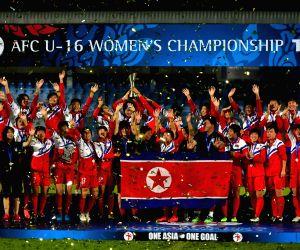 THAILAND-CHONBURI-SOCCER-AFC U16 WOMEN'S CHAMPIONSHIP-FINAL-DPRK VS ROK