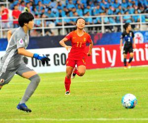 THAILAND-CHONBURI-SOCCER-AFC U16 WOMEN'S CHAMPIONSHIP-CHN VS JPN