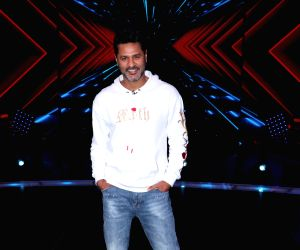"Prabhu Deva on the sets of ""Dance Plus"