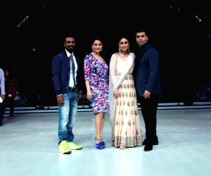 Promotion of film Singham Returns on the sets of Jhalak Dikhhla Jaa 7
