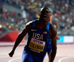 Coleman wins at Indoor meet, comes close to breaking 60m world record