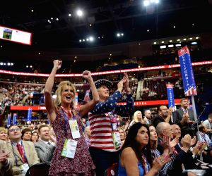 US CLEVELAND REPUBLICAN NATIONAL CONVENTION TRUMP