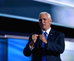 U.S.-CLEVELAND-REPUBLICAN NATIONAL CONVENTION-MIKE PENCE