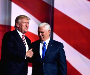 US-CLEVELAND-REPUBLICAN NATIONAL CONVENTION-MIKE PENCE