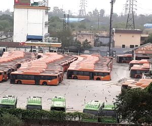 Drivers and conductors cluster busses go on strike