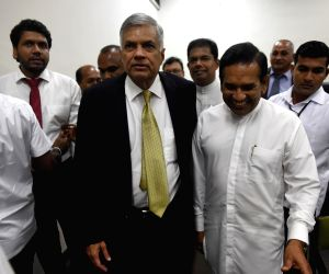 SRI LANKA-COLOMBO-PM-NO CONFIDENCE MOTION
