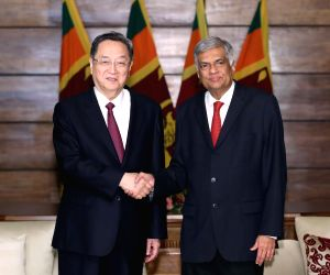 SRI LANKA CHINA YU ZHENGSHENG VISIT