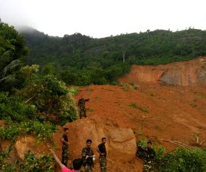SRI LANKA-KEGALLE DISTRICT-LANDSLIDE