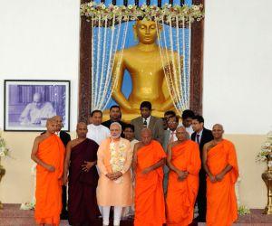 PM Modi visits Mahabodhi Society
