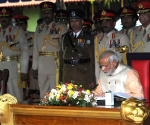 PM Modi pays tribute to the martyrs of the Indian Peace Keeping Force soldiers