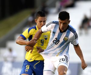 URUGUAY COLONIA SOCCER ARGENTINA VS ECUADOR