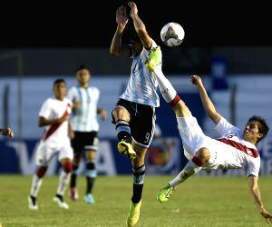 URUGUAY COLONIA SOCCER ARGENTINA VS PERU