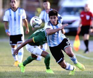 URUGUAY COLONIA SOCCER ARGENTINA VS BOLIVIA