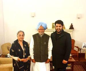 Kapil Sharma meets Manmohan Singh