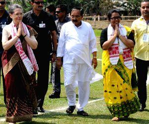 Sonia Gandhi's rally