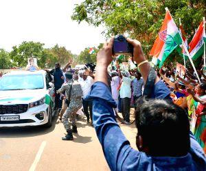 Free Photo: Congress Leader Rahul Gandhi welcomed at Thoothukudi