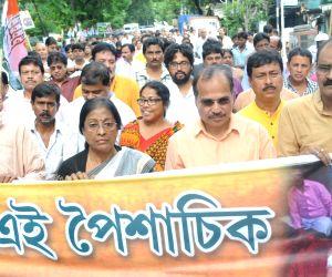 Congress protest rally